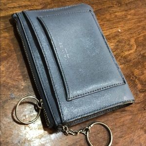 Small wallet holds keys
